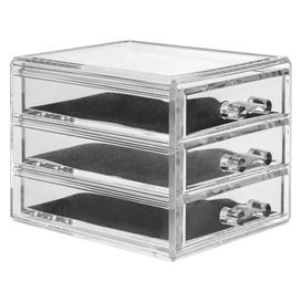 image-Chalmers 3 Drawer Jewellery Box Rebrilliant