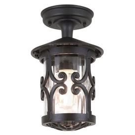 image-Elstead BL13A Hereford exterior,  black, flush porch lantern, IP23