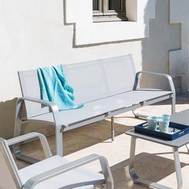 image-Zidane Garden Sofa Sol 72 Outdoor Colour: Lightgrey
