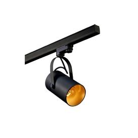 image-Mantra M6045 Aruba 1 Light Ceiling Track Spotlight In Black And Gold