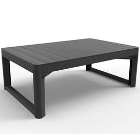 image-Conger Plastic Coffee Table Sol 72 Outdoor Colour: Graphite