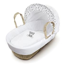 image-Dane Moses Basket with Bedding and Stand HoneyBee Nursery