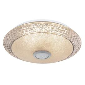 image-Auburn 1-Light 41cm LED Flush Mount Willa Arlo Interiors