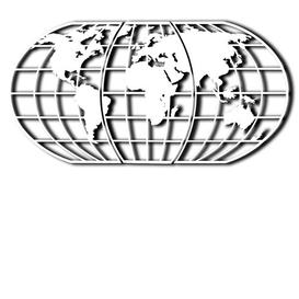 image-World Map Globe Wall Décor Brayden Studio Finish: White