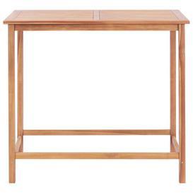 image-Michelina Teak Bar Table Sol 72 Outdoor Size: 110cm H x 120cm W x 65cm D