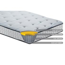 image-Horsley Sleepsoul Air Open Coil Mattress Symple Stuff