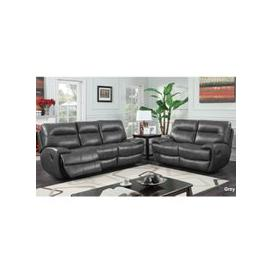 image-Orionis Recliner 2 Seater And 3 Seater Sofa Suite In Grey
