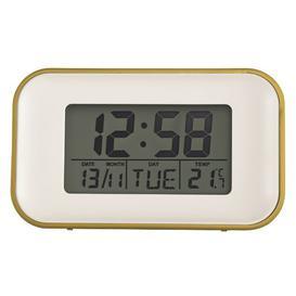 image-Digital Quartz Alarm Tabletop Clock