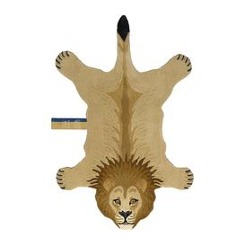 image-Doing Goods - Moody Lion Rug - Tan - Large