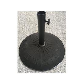 image-Harbo 15kg Concrete Garden Parasol Base with Sundial Design
