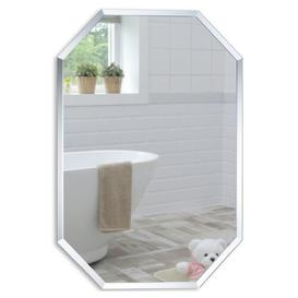 image-Seeber Bathroom Mirror Metro Lane Size: 50cm x 40cm