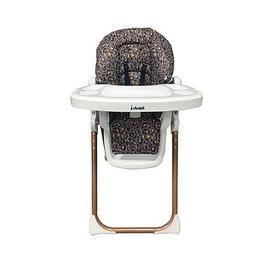 image-My Babiie Dani Dyer Navy Leopard Premium Highchair
