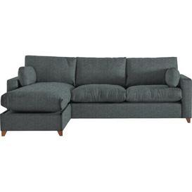 image-Yepez Ottoman Sleeper Corner Sofa Bed Latitude Run Upholstery Colour: Smoke, Orientation: Left Hand Facing