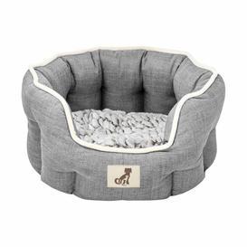 image-Kay Bolster Cushion Archie & Oscar Size: 23cm H x 75cm W x 55cm D, Colour: Grey
