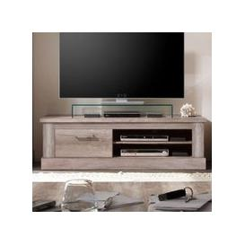 image-Montreal Wooden TV Stand In Monument Canyon Oak With 1 Drawer