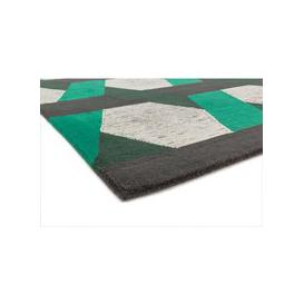 image-Asiatic Carpets Camden Hand Tufted Rug Green - 160 x 230cm