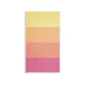 image-Cotton Colour Block Zig Zag Beach Towel
