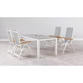 image-Gladeview 4 Seater Dining Set Sol 72 Outdoor