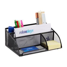 image-Schilling Desk Organiser Symple Stuff Colour: Black