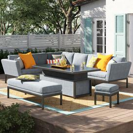 image-Galion 6 Seater Rattan Sofa Set Sol 72 Outdoor