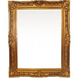 image-Thirsk Antique Gold Rectangular Wall Mirror - 125cm x 155cm