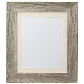 image-Natur Pur Hygge Picture Photo Frame, Plastic Glass, Grey Ash With Ivory Mount, 10 X 8 Inches Image Size A5 Natur Pur Colour: Grey Ash/Ivory, Size: 85.