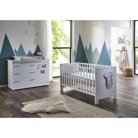 image-Marisa Cot Bed 2 Piece Nursery Furniture Set Arthur Berndt