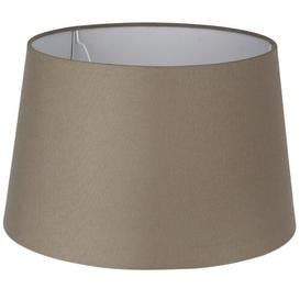 image-Empire Lamp Shade Zipcode Design Colour: Taupe, Size: 24cm H x 34cm W x 40cm D