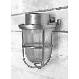 image-Bramblewood Outdoor Wall Lantern Breakwater Bay Fixture Finish: Nickel