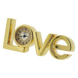 image-Table Clock Happy Larry Finish: Gold