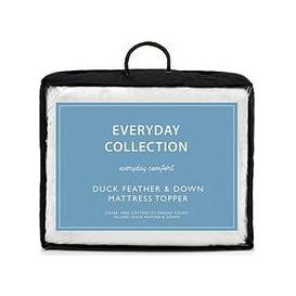 image-Everyday Collection Duck Feather And Down 5Cm Mattress Topper