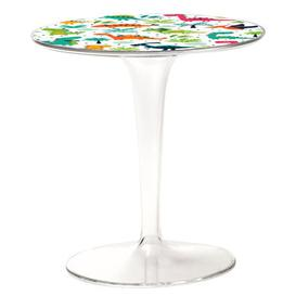 image-Tip Top KIDS Children table - / Patterns by Kartell Multicoulered,Transparent