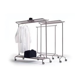 image-Clothes Rack Symple Stuff Size: 170cm H x 128cm W x 53cm D