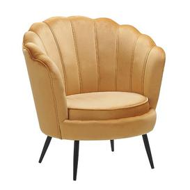 image-Foy Tub Chair Fairmont Park Upholstery Colour: Yellow