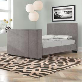 image-Gayle Upholstered TV Bed Wade Logan