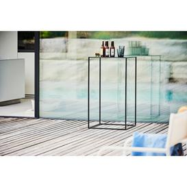 image-Pio Stainless Steel Balcony Table JanKurtz