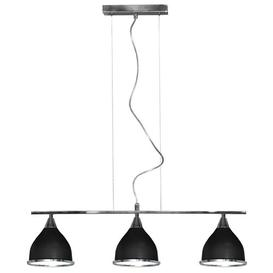 image-Nanette 3-Light Kitchen Island Pendant Corrigan Studio Shade colour: Black
