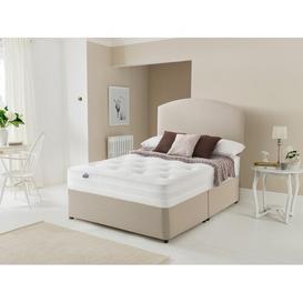 image-Mirapocket Ortho 1400 Divan Bed Silentnight Size: Double (4'6), Colour: Sandstone, Base Type: No Drawer