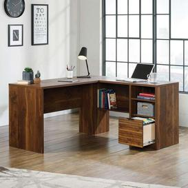 image-Sikorsky Park L-Shaped Executive Desk Union Rustic