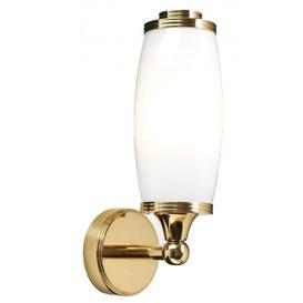 image-Elstead BATH/ELIOT1 PB Eliot 1 Light Bathroom Wall Light In Polished Brass