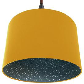 image-40cm Cotton Drum Lamp Shade Bay Isle Home Colour: Yellow
