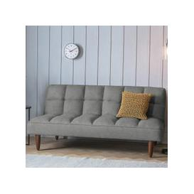 image-Azcona Contemporary Fabric Sofabed In Frost Grey