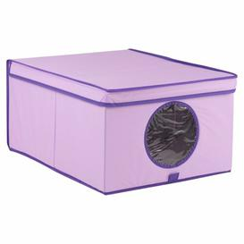 image-Purple Storage Fabric Box Symple Stuff