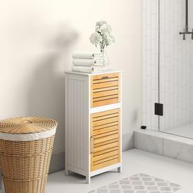image-Lisa 40 x 83cm Free-Standing Bathroom Cabinet House of Hampton