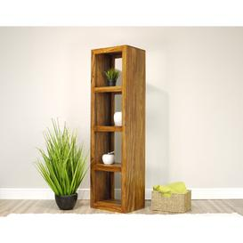 image-Clardy Multimedia Open DVD/CD Shelf Bay Isle Home