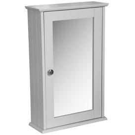 image-Jimmy 34Cm W x 53Cm H x 15Cm D Wall Mounted Bathroom Cabinet
