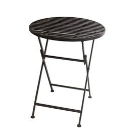 image-Folding Wrought Iron Bar Table Sol 72 Outdoor