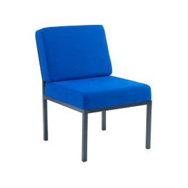 image-Metz Steel Framed Reception Chair, Blue