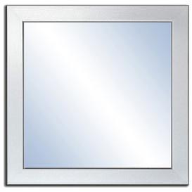 image-Crissom Bathroom Mirror Ebern Designs Size: 60cm H x 60cm W, Finish: Silver