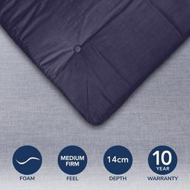 image-Mito Futon Mattress Royal Blue (Blue)